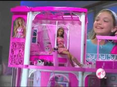 Toy / Game Ultra-Luxurious Barbie Pink 3-Story Dream Townhouse With Roaring Fireplace And Pop Up Flat Screen Tv Reviews - http://www.thefullreview.com/toy-game-ultra-luxurious-barbie-pink-3-story-dream-townhouse-with-roaring-fireplace-and-pop-up-flat-screen-tv-reviews/