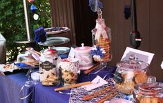 Cookie bar for graduation open house great idea for u seniors that's graduating