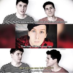 Dan and Anthony just ROASTED PhilXD I couldn't stop laughingXD