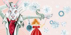 çizgili masallar: Maryna Rudzko, Alice in Wonderland