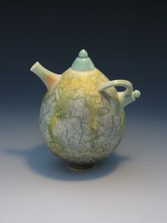 Ceramics by Geoffrey Swindell at Studiopottery.co.uk - Teapot - 13cm. www.teacampaign.ca Source: see below.