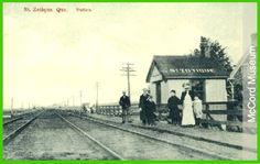 ST-ZOTIQUE, Québec- La Gare - McCord Muséum c  p1910     -  Style gare mobile architecture  OL