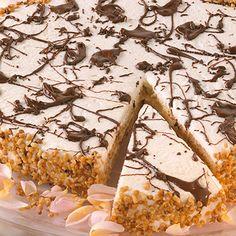 Weiße Schoko-Honig-Torte