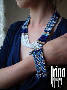 Jewelry set Necklace and bracelet Tribal necklace Beaded necklace Seed bead bracelet Boho jewelry Necklace to vyshyvanka White necklace Fashion Jewelry Necklaces, Boho Jewelry, Fashion Necklace, Jewelry Sets, Gothic Jewelry, Seed Bead Bracelets, Seed Bead Earrings, Beaded Earrings, Seed Beads