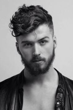 mens short wavy hair - Google Search