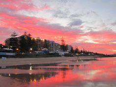 Sunset - Mooloolaba Beach, Queensland, Australia