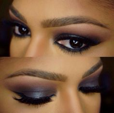 #Smokey Eye Makeup for Brown Eyes - Makeup for Brown Skin