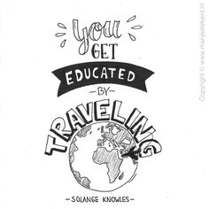 Quote handlettering Www.nl - Tap the link to shop on our official online store! You can also join our affiliate and/or rewards programs for FREE! Doodle Quotes, Art Quotes, Inspirational Quotes, Calligraphy Quotes, Drawing Quotes, Get Educated, Journal Quotes, Travel Quotes, Word Art