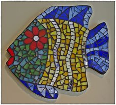 Mosaic fish | by Meaco's Art Garden