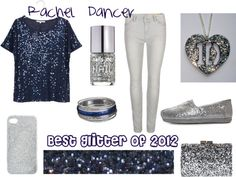 """""""Best Glitter of 2012"""" by wagglesmom on Polyvore"""