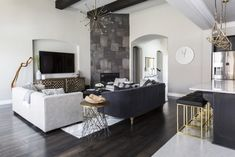 Eclectic Modern by Contour interior design, Sugar Land, Texas