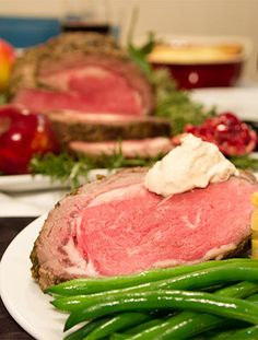 The best prime rib roast recipe for Christmas! The garlic and rosemary add so much flavor. The whole family will enjoy it and it's super easy to make.