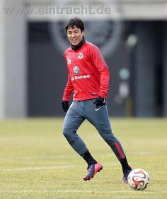 Makoto Hasebe  Eintracht Frankfurt #20 長谷部誠