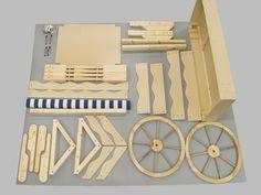Bildergebnis für how to make a collapsible candy cart
