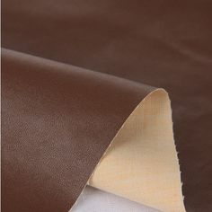 High Quality Faux Leather  Fabric ,Bag Wallet  Fabric  (Brown).