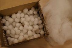 noflik nifelje: Sneeuw maken met de peuters!