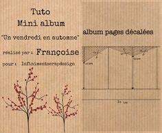 Petite surprise un tuto d'album Mini Albums Scrapbook, Diy Scrapbook, Stampin Up, Handmade Books, Scrapbooking, Mini Books, Photo Book, Book Art, Boutique