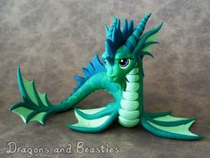 Sea Dragon Sculpture