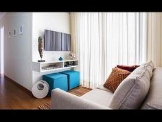 Como fazer a decoração de um apartamento pequeno gastando pouco - YouTube