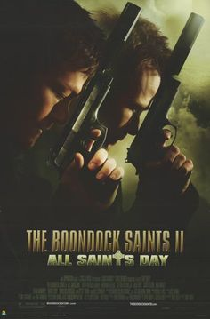 A great poster from the Boondock Saints sequel. It's All Saints Day, and Norman Reedus and Sean Patrick Flanery return as the McManus twins to settle another score. Fully licensed. Ships fast. 24x36 i