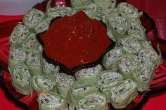 Mexican Cream Cheese Rollups