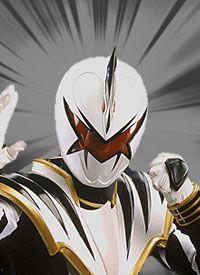 Power Rangers Dino Thunder- Trent, the White Ranger  <3
