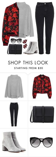 """""""Be Kind to Autumn"""" by sweet-jolly-looks ❤ liked on Polyvore featuring Vince, Alice + Olivia, Topshop, Gianvito Rossi, Alexander McQueen, Fall, casual and simple"""