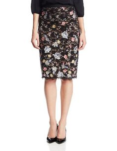 BCBGMAXAZRIA Women's Irisa Knit Embroidered Pencil Skirt, Black Combo, Large BCBGMAXAZRIA http://www.amazon.com/dp/B00HN1HIHW/ref=cm_sw_r_pi_dp_rupPtb1ATEFMMMGK