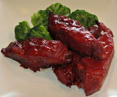 Chinese style boneless ribs
