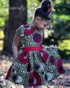 African print fashion, african dresses for kids, african dress patterns, af African Dresses For Kids, African Babies, African Children, African Print Dresses, African Fashion Dresses, African Attire, African Wear, African Prints, African Style