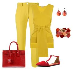 Untitled #404 by vikki-strong on Polyvore featuring polyvore fashion style Whistles Versace Qupid Yves Saint Laurent Pomellato clothing