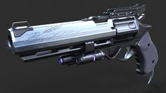 ArtStation - DESTINY FAN ART_ HAWKMOON HAND CANNON, David de Leon
