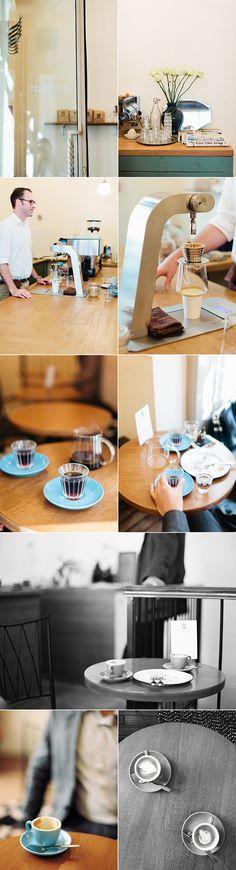 Téléscope coffee shop via lingered upon/Alice Gao