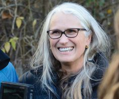 Glasses for gray hair - Jane Campion