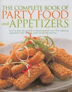 Good Reads: The Complete Book of Party Foods and Appetizers   TheSaucyCulinarian.com