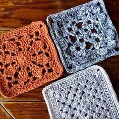 Welcome to Week 7 of the VVCAL reboot. This week, we will be making four squares. The Red Maple Square, the Birch Square, and two of the Plain Granny Square. Remember we … Granny Square Crochet Pattern, Crochet Diagram, Crochet Squares, Crochet Granny, Crochet Books, Diy Crochet, Vintage Crochet, Crochet Designs, Crochet Patterns