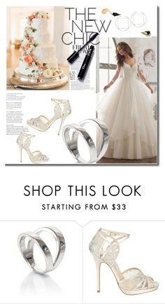 """Wedding"" by anis-kudumovic ❤ liked on Polyvore featuring Jimmy Choo and jewelsandcharlie"