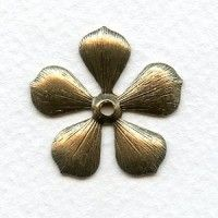 Buy Metal Leaves for Jewelry Making (2) - VintageJewelrySupplies.com