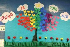 Spring Bulletin Boards Kindergarten Of Cambridge School Romania