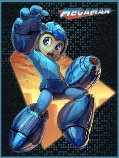 Mega Man by Eduardo Bromhbley *