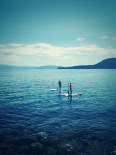 I seriously wished I lived by water so I can paddle board because I have tried it and I seriously love it!!