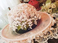 Hat! with Lily of the Valley