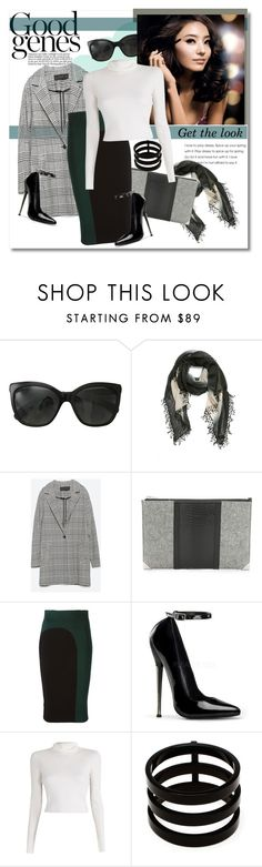 """Get the look"" by vkmd ❤ liked on Polyvore featuring ferm LIVING, Chanel, La Fiorentina, Zara, Alexander Wang, McQ by Alexander McQueen, A.L.C., Repossi and GetTheLook"