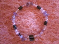 A beautiful bracelet with a nice pure energy to help you show your female side more and also to balance your Yin/Yang sides. Magnets , beads, moonstone and amethysts al together give a nice result. Amethysts, Yin Yang, Magnets, Beaded Bracelets, Jewels, Pure Products, Female, Beads, Nice