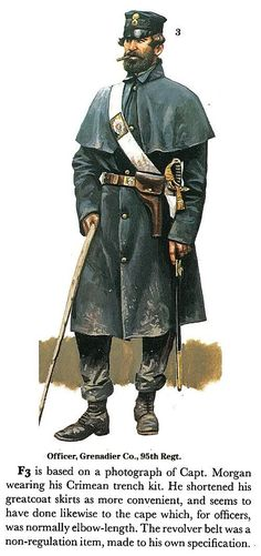 Officer, Grenadier company, 95th Regiment  The British Army On Campaign 1816-1902 (2): The Crimea, 1854-1856)  -: