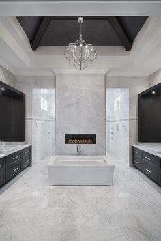 #kbtribechat Oh to have enough space for this luxurious bath! #pinterest