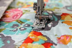 Quilt as you go... What a great blog on quilting.