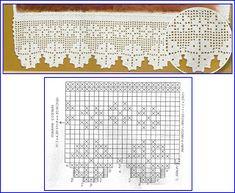 MIRIA CROCHÊS E PINTURAS: BARRADOS DE CROCHÊ