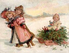Kerst_nostalgie plaatjes