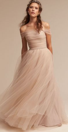 Blush Tulle Beauty